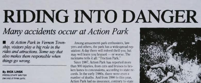 Class Action Park Documentary