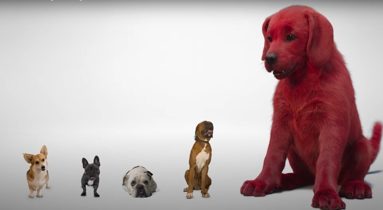 clifford the big red dog teaser