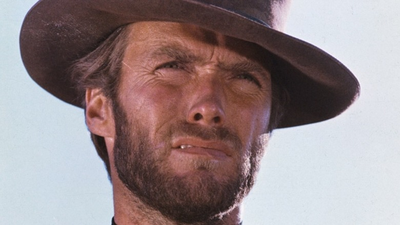 Clint Eastwood man with no name hat