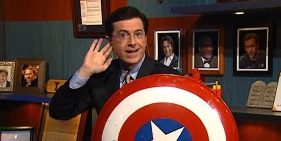 Colbert Report Marvel
