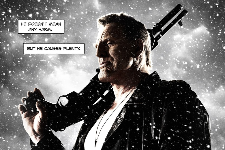 Sin City A Dame to Kill For - Marv poster header