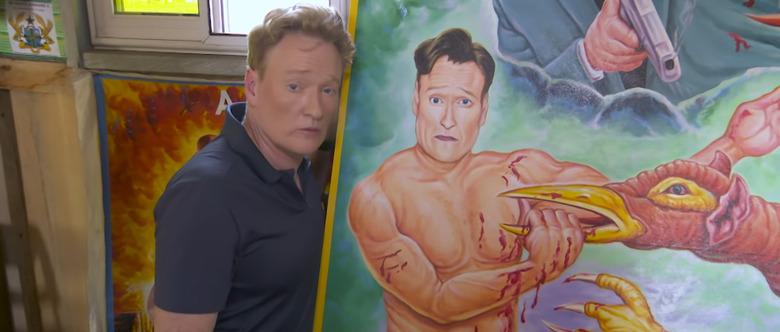 Conan Explores Ghana Movie Posters