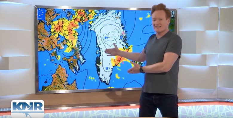 Conan Goes to Greenland