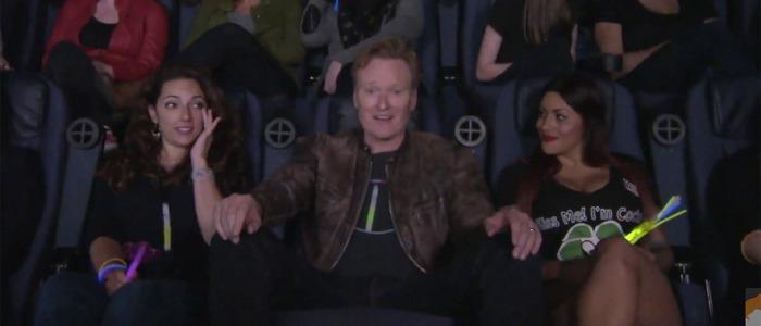 Conan O'Brien sees Magic Mike XXL
