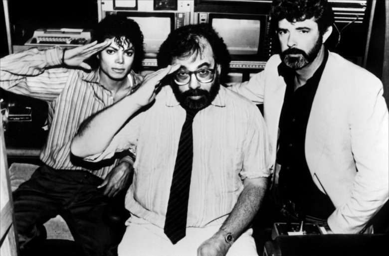Michael Jackson Francis Ford Coppola and George Lucas