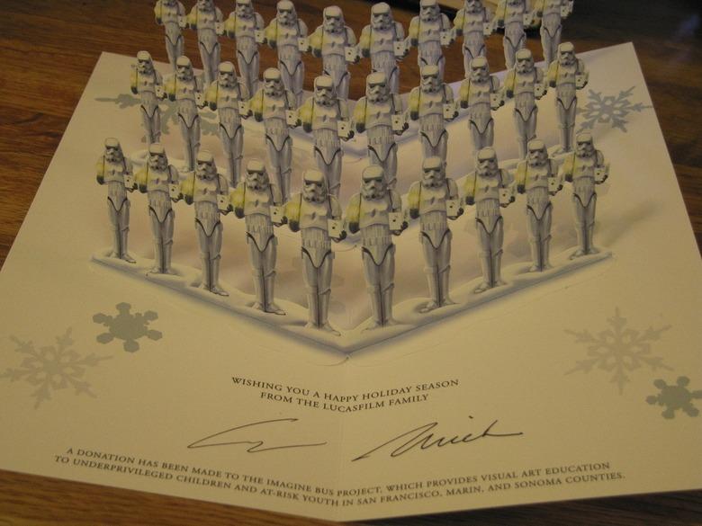 2007 LucasFilm Star Wars Christmas Card