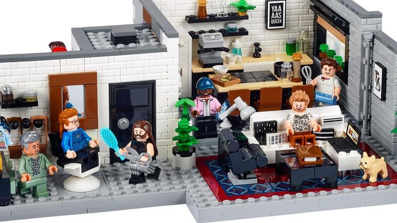 Queer Eye The Fab Five Loft LEGO Set