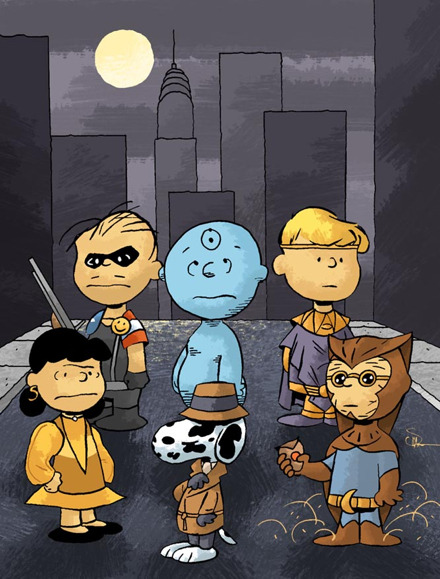 Cool Stuff: Charles Schulz's The Watchmen