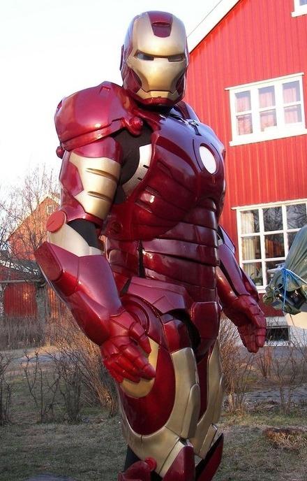 Custom Iron Man Costume