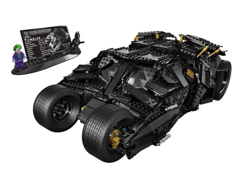 Dark Knight Tumbler Lego 1