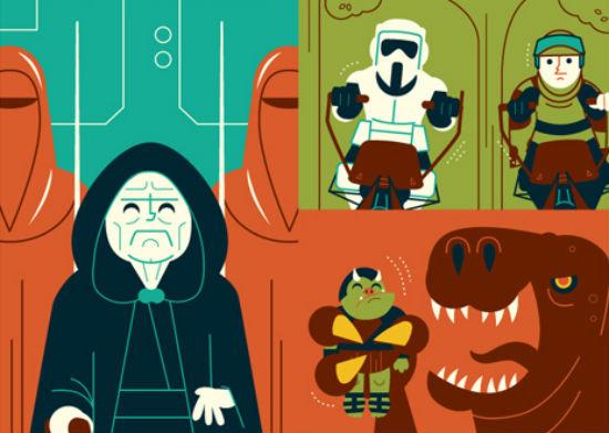 Dave Perillo - Return of the Jedi header