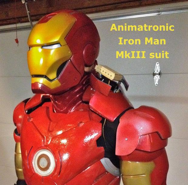 Animatronic Iron Man