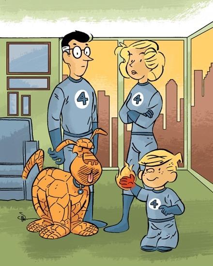 Cool Stuff: Hank Ketcham's The Fantastic Four