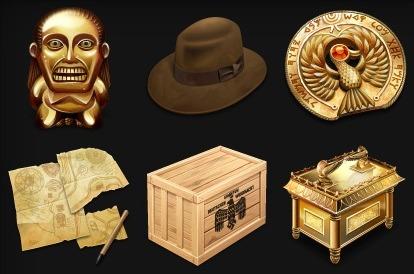 Indiana Jones Desktop Icons