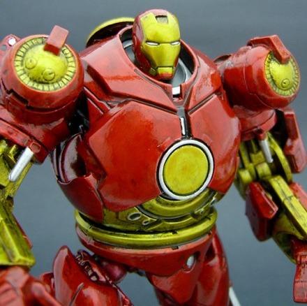 Iron Man Hulkbuster Action Figure