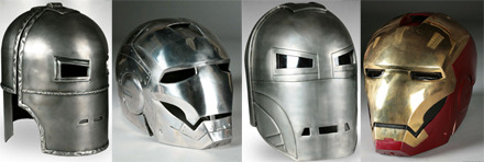 Iron Man Prop Replica Helmets from Museum Replicas