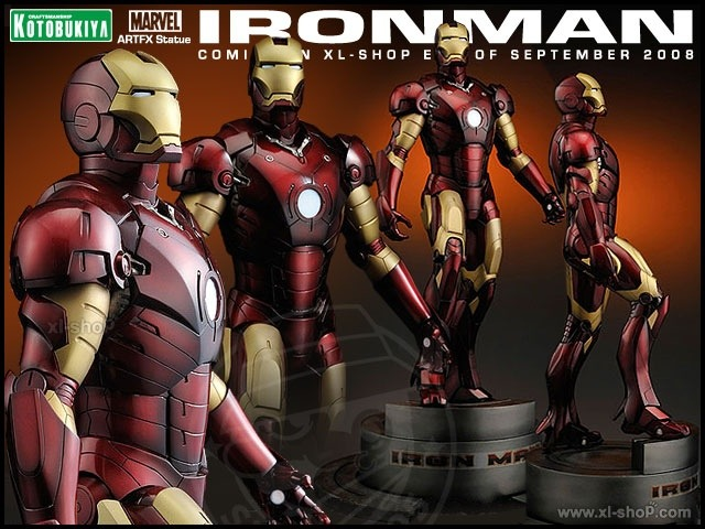 Cool Stuff: Kotobukiya's Iron Man AFTFX Statue