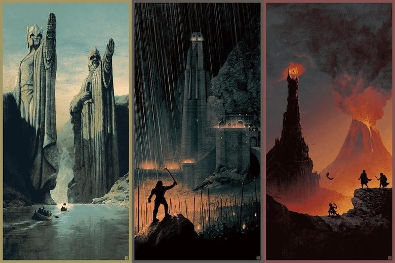 Matt Ferguson Lord of the Rings set
