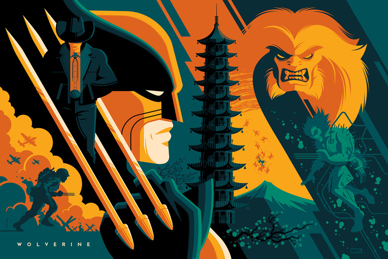 Wolverine by Tom Whalen (variant)