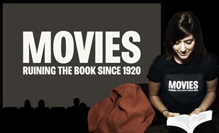 Movies - Ruining The Book Since 1920 T-Shirt