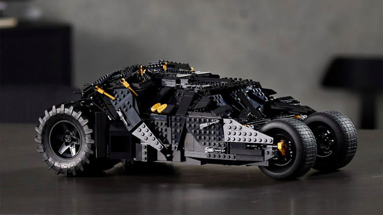 Cool Stuff: New LEGO Sets For The Dark Knight Trilogy s Batmobile Tumbler Definitely Come In Black