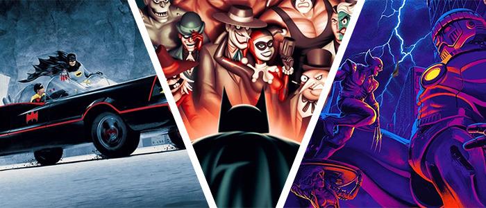 Bottleneck Gallery X-Men and Batman Posters