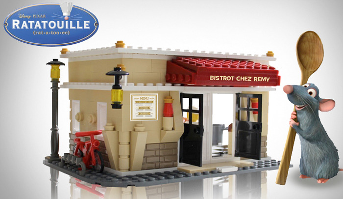 Ratatouille LEGO