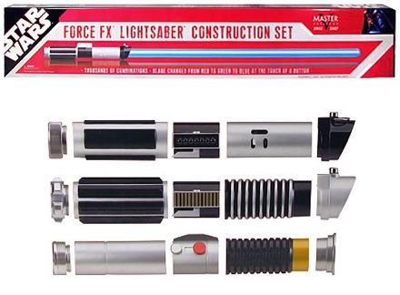 Star Wars Force FX Lightsaber Construction Set