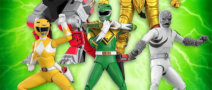 Super7 Mighty Morphin Power Rangers Action Figures