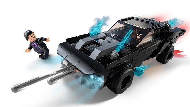 The Batman LEGO Batmobile