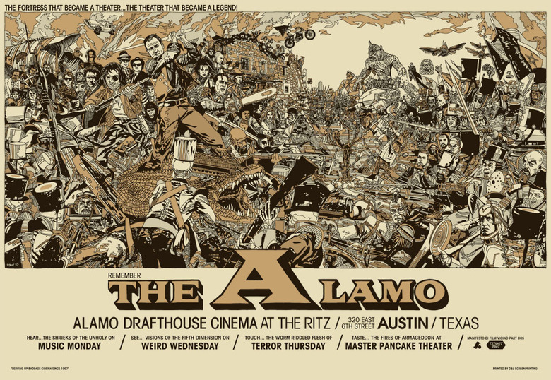 Tyler Stout's Movie Poster Art