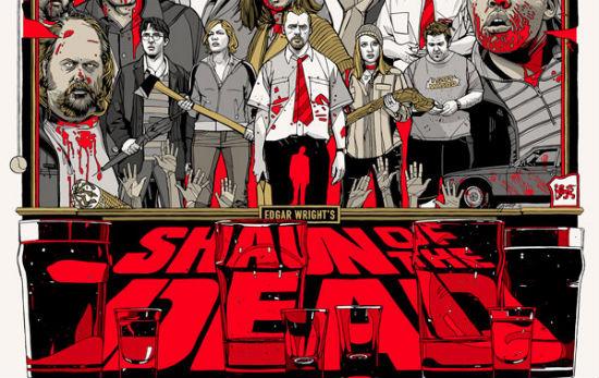 Tyler Stout - Shaun of the Dead header