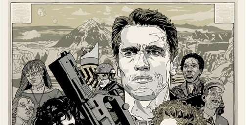 Tyler Stout's Total Recall Poster