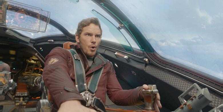 Marvel's Guardians Of The Galaxy Peter Quill/Star-Lord (Chris Pratt) Ph: Film Frame ©Marvel 2014