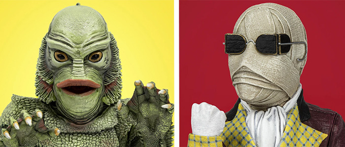 Creature from the Black Lagoon and Invisible Man Spinatures