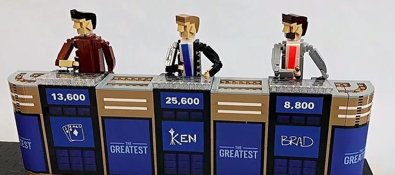 Jeopardy LEGO Set