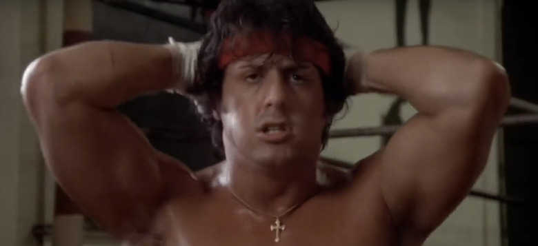 Baby Does the Rocky 2 Training Montage