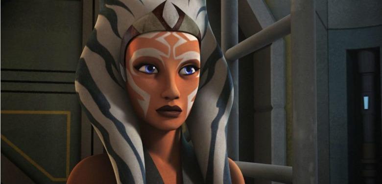 Ashoka in Star Wars rebels