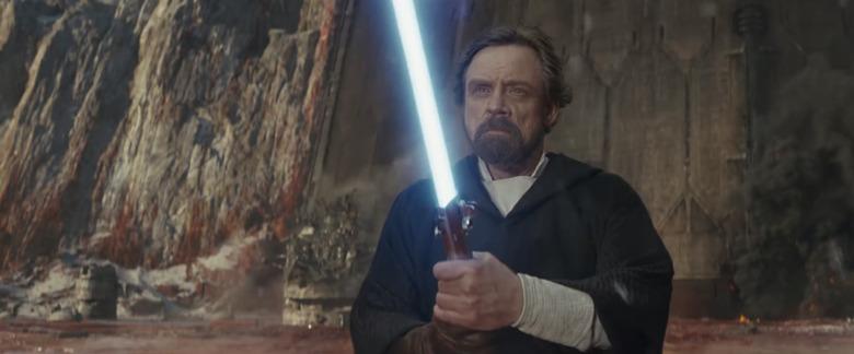 Star Wars The Last Jedi - Mark Hamill as Luke Skywalker