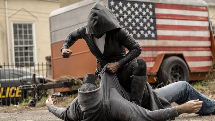 Watchmen beating