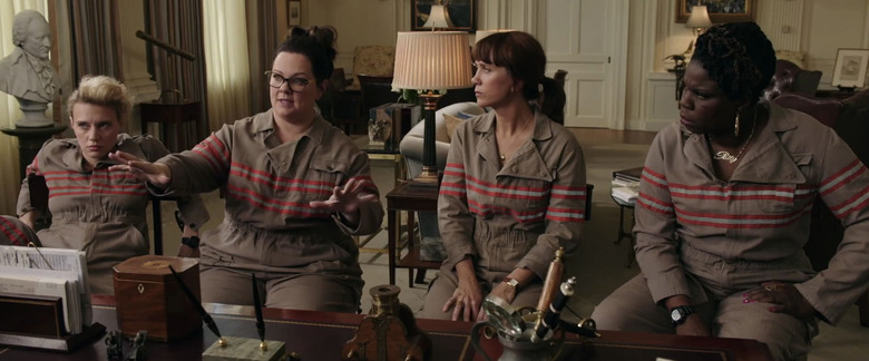 Ghostbusters Reshoots