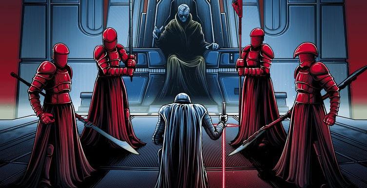 Dan Mumford Star Wars The Last Jedi Prints