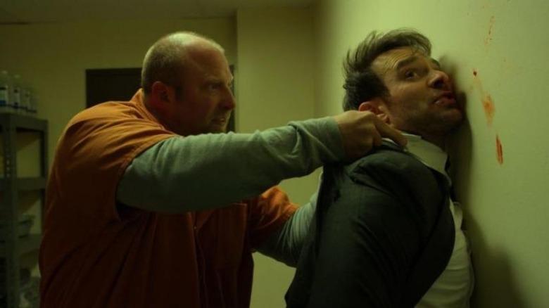daredevil prison fight