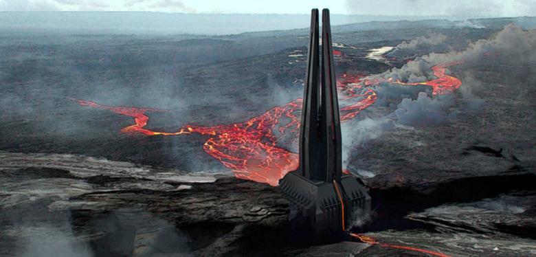 Darth Vader Castle Origins
