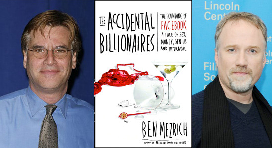 Fincher and Sorkin adapt The Accidental Billionaires