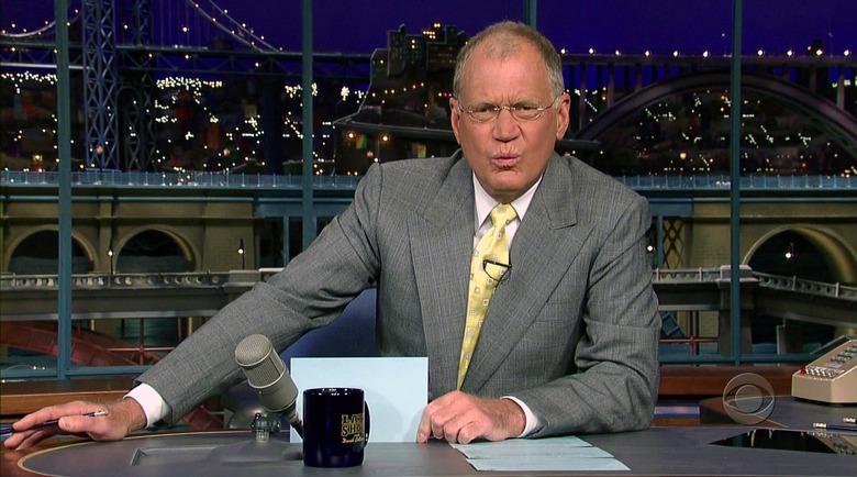 David Letterman retire