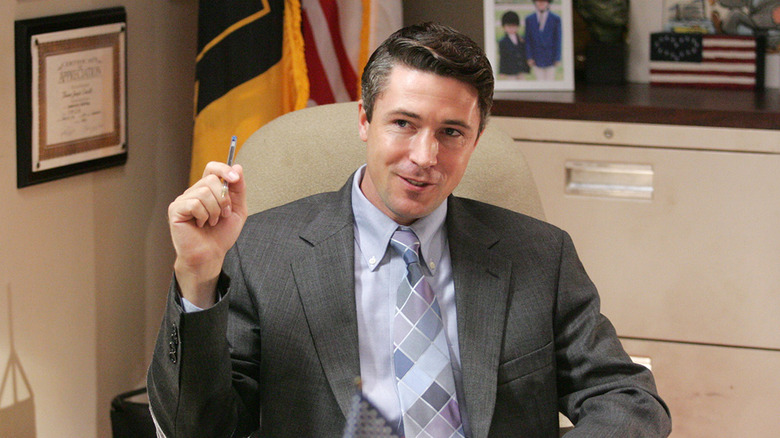Aidan Gillen as Tommy Carcetti on The Wire