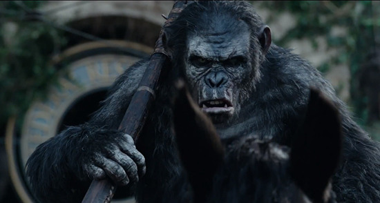 Dawn of the Planet of the Apes early buzz