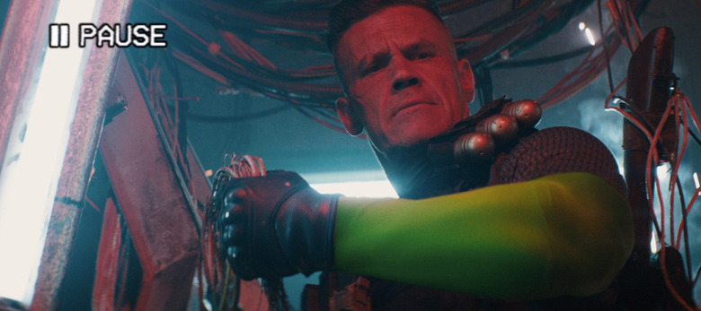 Deadpool 2 Trailer - Josh Brolin as Cable