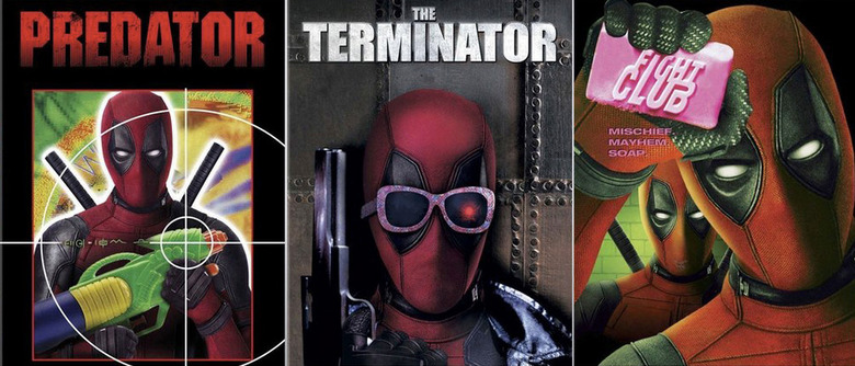 Deadpool DVD Covers
